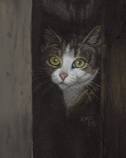 http://www.ebay.com/itm/KMCoriginals-Tabby-Cat-in-shadow-kitty-portrait-feline-pastel-original-4x5-art-/310803062715?pt=Art_Drawings&hash=item485d4e5fbb
