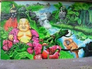 "GRAFFITI (""Buda"")"