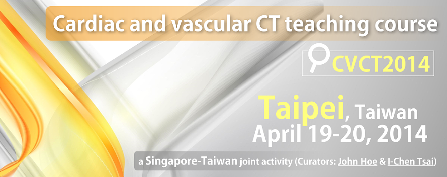 CVCT2014: Cardiac and Vascular CT Teaching Course