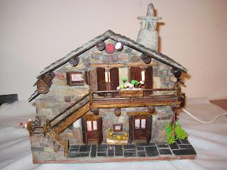 Casas de piedra en miniatura presentacion - Casas en miniatura de madera ...