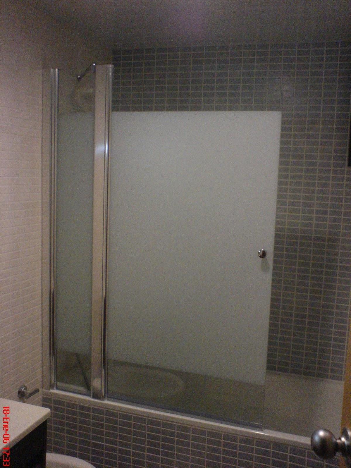 Alunou mampara de ba o for Instalar una mampara de ducha