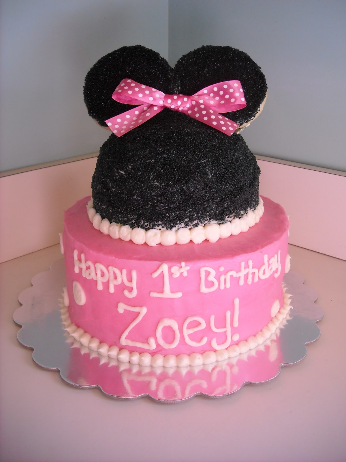 Cakes by Renee Minnie Mouse 1st Birthday