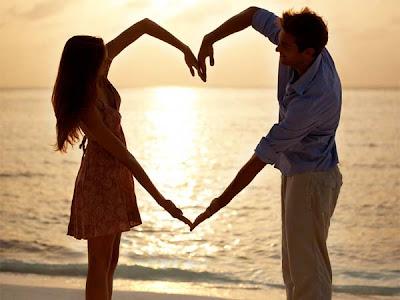 relation - Way To A Man's Heart - sunset love beach