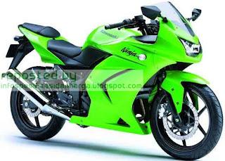Harga Kawasaki Ninja RR Motor Terbaru 2012