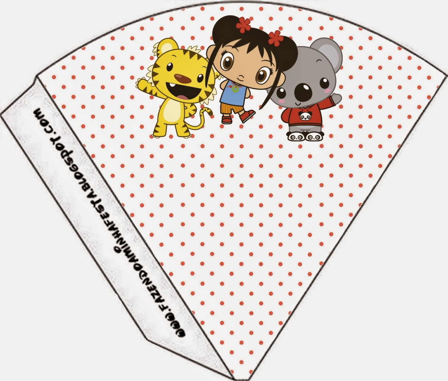 ni hao kai lan free party printables frames and images oh my