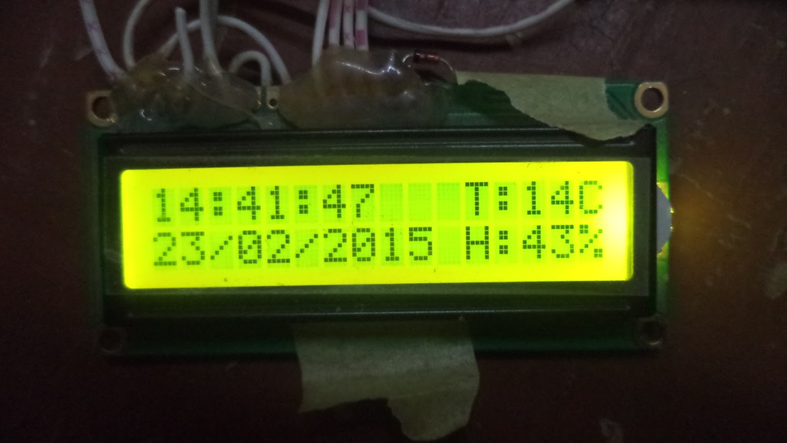 Interfacing The Ds1307 Real Time Clock With Pic 6585028 Salonurody Pic12f1822 Circuit Mikroc Electronics Note Pic16f877a Lcd