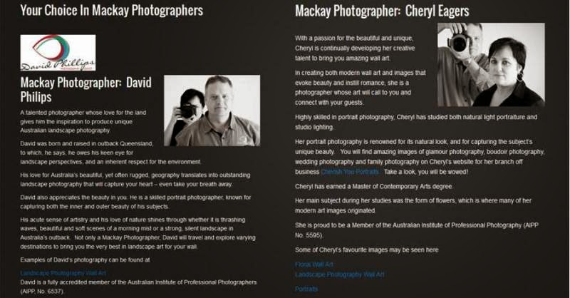 trusted photographers in Mackay