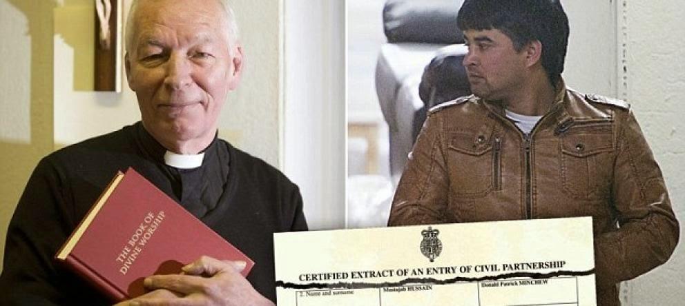 Matrimonio Catolico Musulman : Noticias impactantes del mundo sacerdote católico se casó