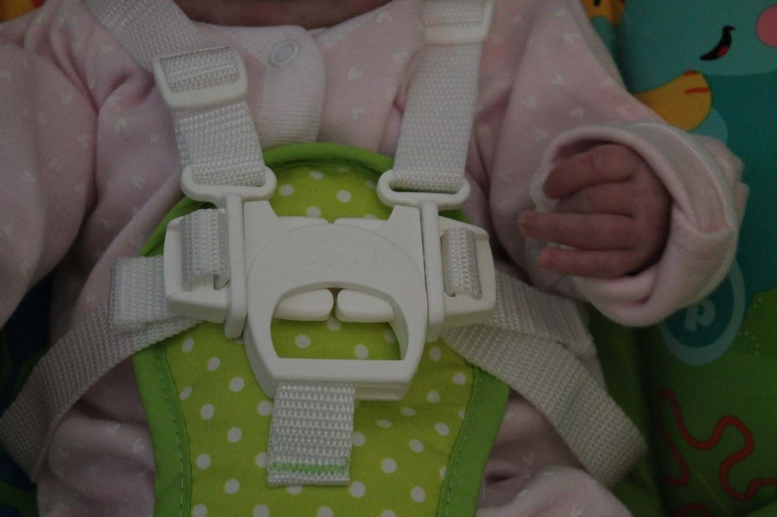 Fisher Price Seat/Swing Five Point Restraint.