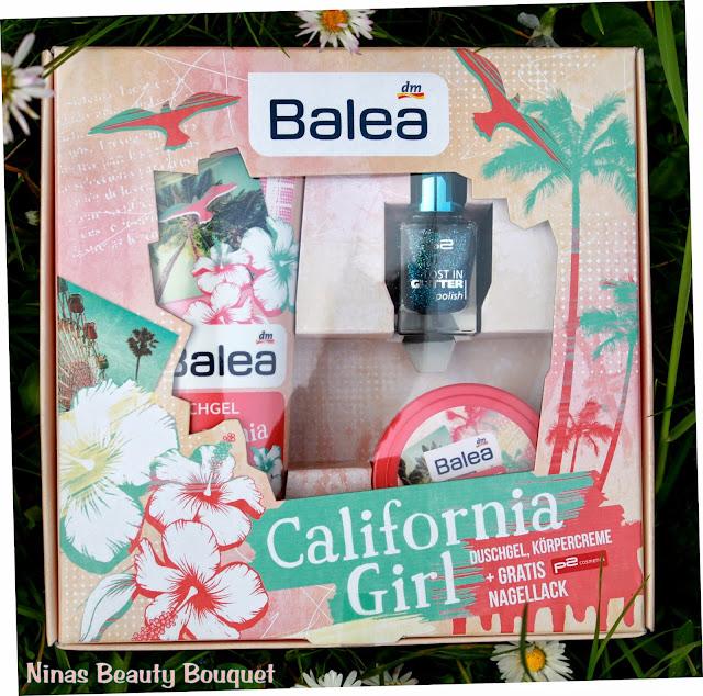 Balea California Girl Geschenkbox  [Duschgel, Körpercreme + Gratis Nagellack]