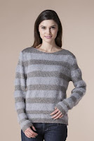 Pulover gri din tricot 14735 (Ama Fashion)