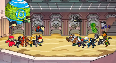 Scribblenauts Unmasked gameplay