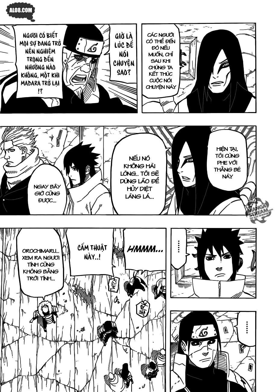 Naruto chap 620 Trang 9 - Mangak.info
