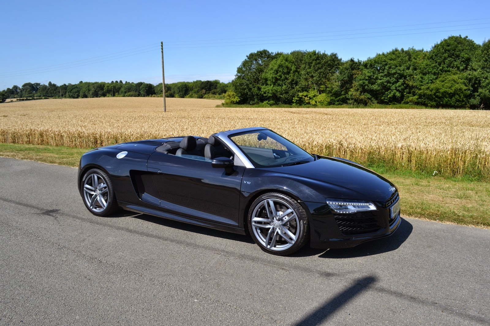 Audi R8 V10 Spyder 5.2FSI Quattro
