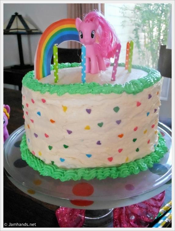 Jam Hands: Rainbow Layer Cake