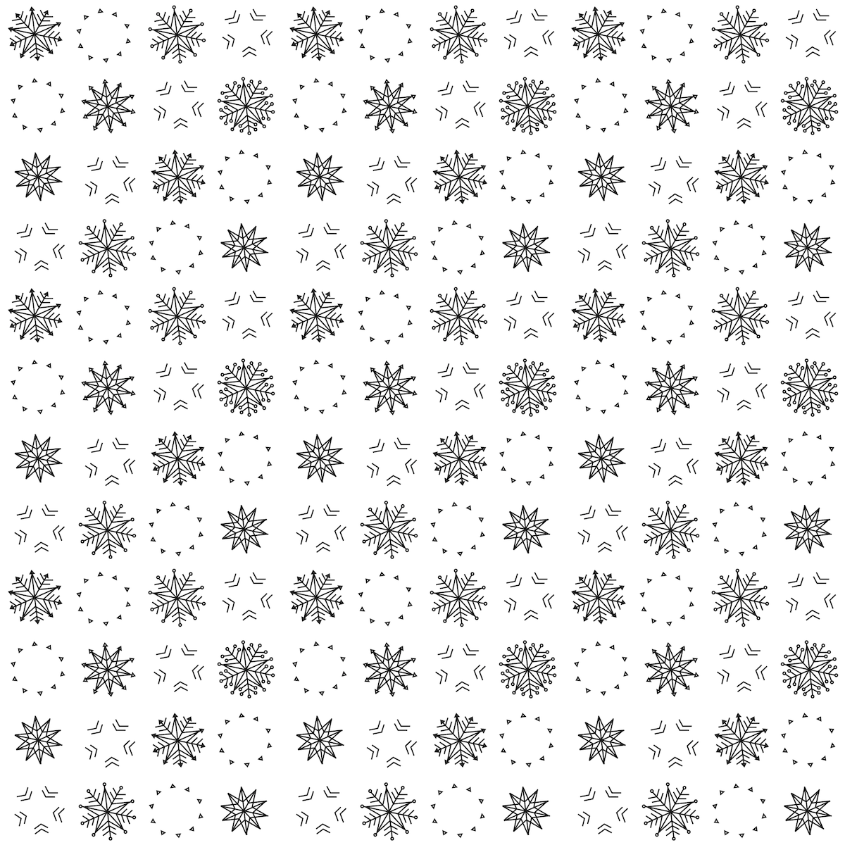 Scrapbook paper black and white