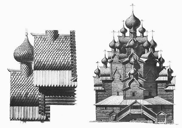 顕栄聖堂(プレオブラジェンスカヤ教会)の図