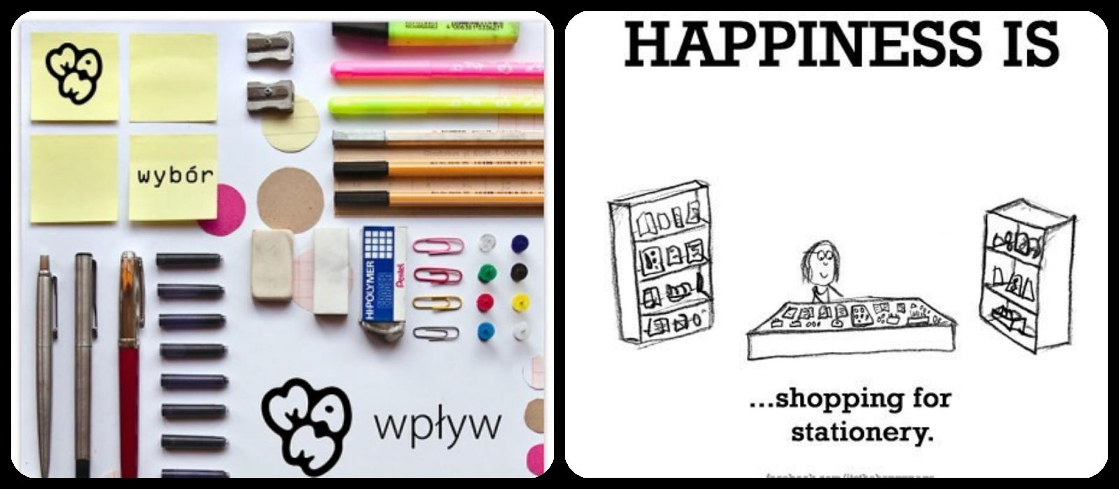 Me gusta entrar a las papelerías y perderme entre las mil cosas que tienen / Happiness is a shopping for stationery
