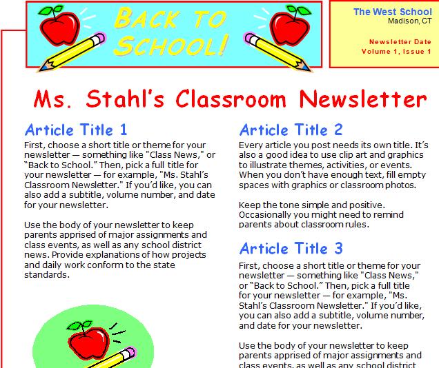 Awesome Free Templates to Create Classroom Newspapers ~ Teachers ...