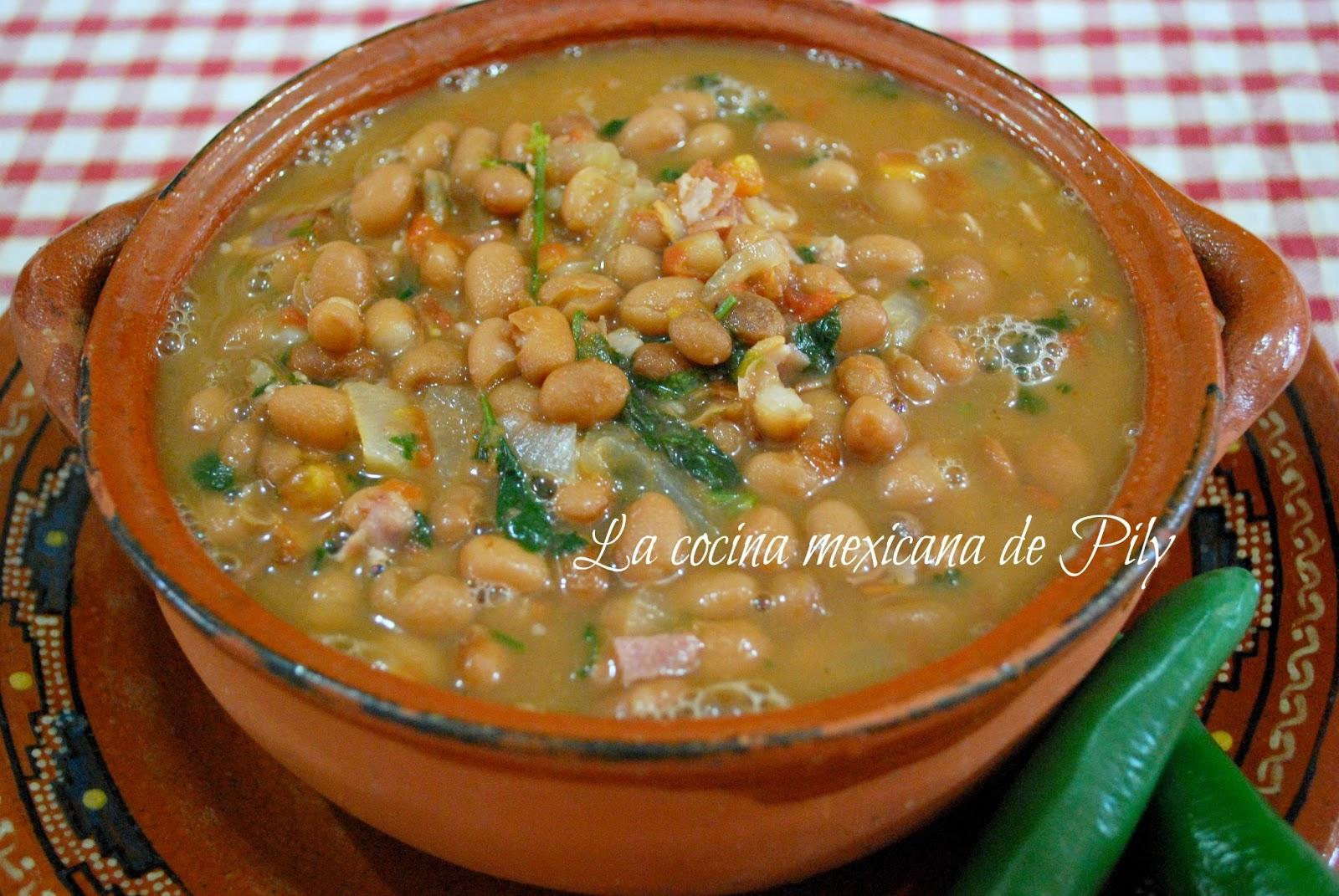 frijoles la cocina mexicana de pily