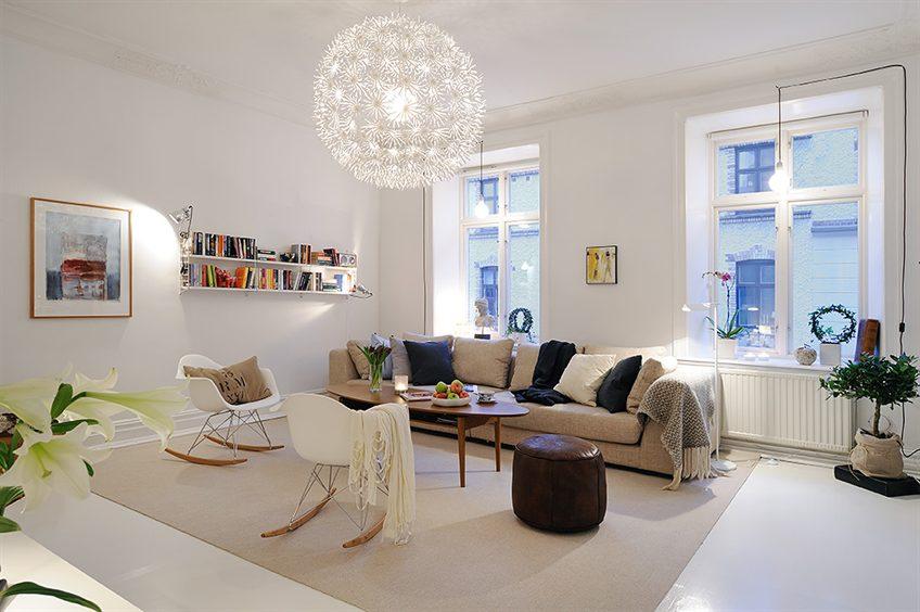 Stockholm Vitt Interior Design Eames Rocking Chair