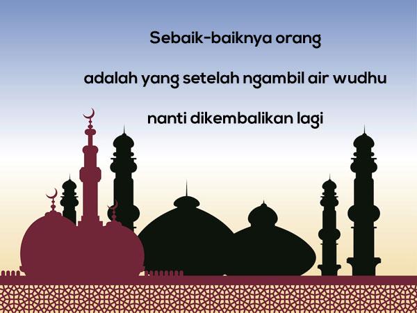 Gambar Kata Mutiara Islami versi Pepatah dan Petuah Lucu 3