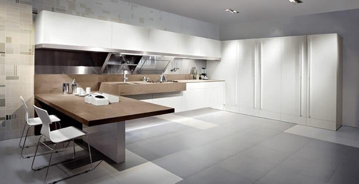 Azul blue muebles colores y tendencias minimalistas - Cocinas modernas italianas ...