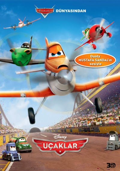 Uçaklar - Planes 2013 Türkçe Dublaj - Tek Link