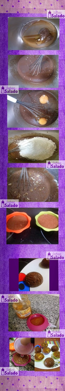 como hacer bizcochos con nutella
