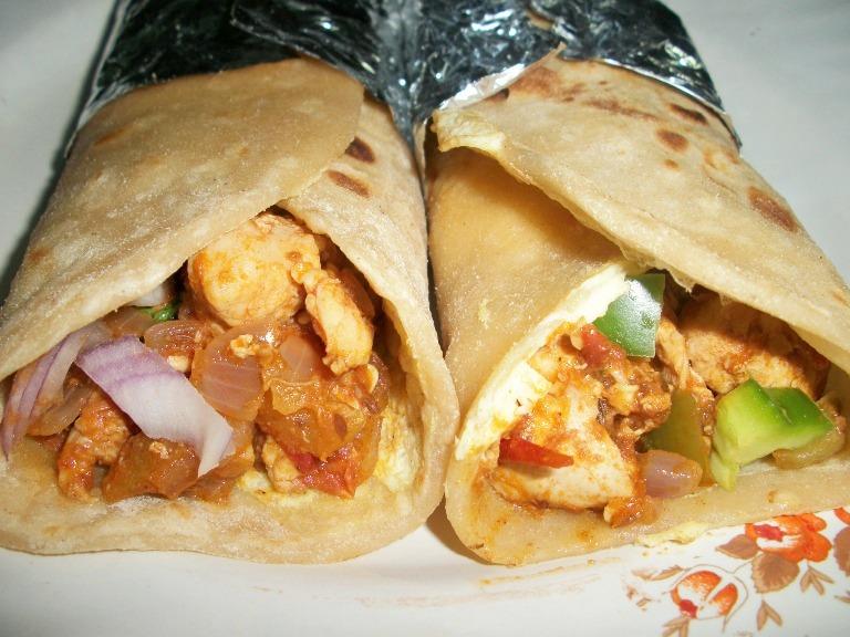 Chicken kathi rolls yummy tummy chicken kathi rolls forumfinder Image collections