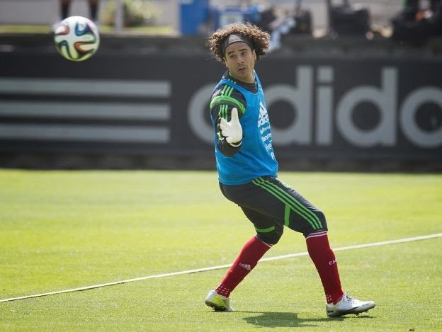 Guillermo Memo Ochoa Brazil World Cup, part 1