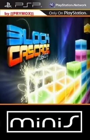 Block Cascade Fusion PSP Game