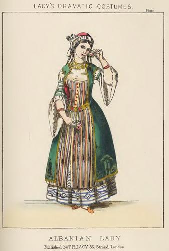 Albanian Lady