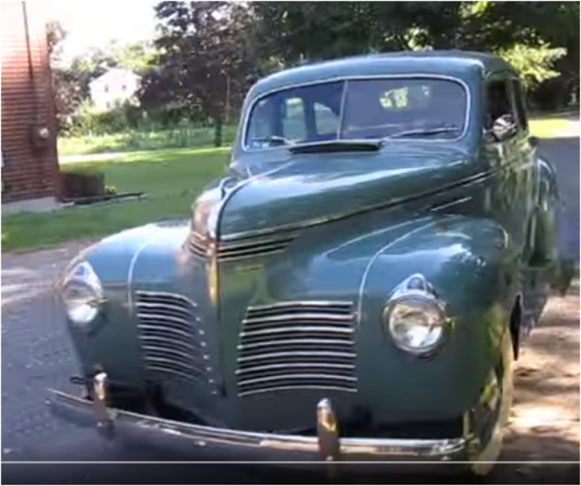 Car the 1940 dodge d14 4 door sedan memories blogs for 1940 dodge 4 door sedan