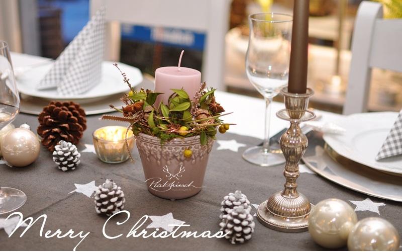 Tischdeko weihnachten 2012  Platzhirsch Holzkirchen: Weihnachtstisch