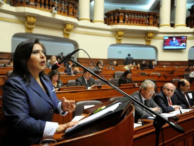 Congreso peruano aprueba censura contra Gabinete Ana Jara