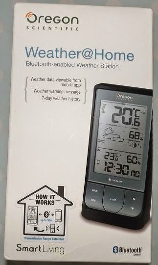 Well Since Receiving The Incredibly Clever Oregon Scientific WeatherHome Weather Station To Review I Could Tell You That