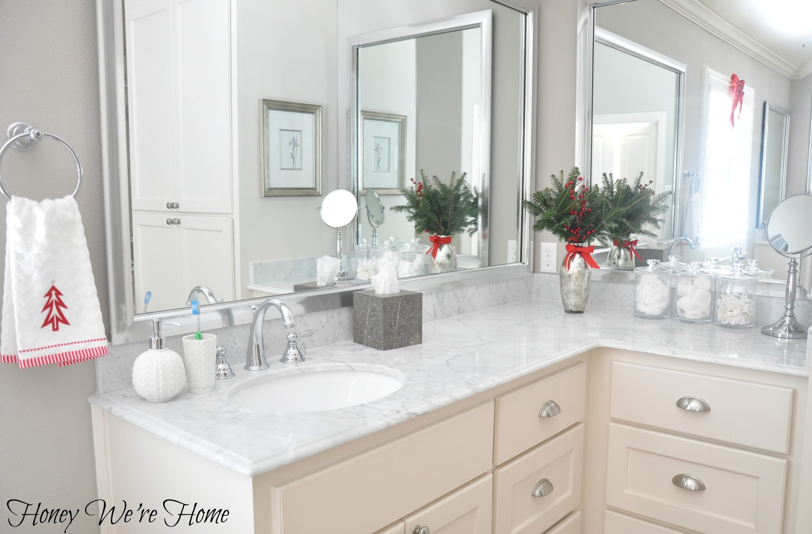 Target Holiday Accessories in the Bathroom | Honey We\'re Home