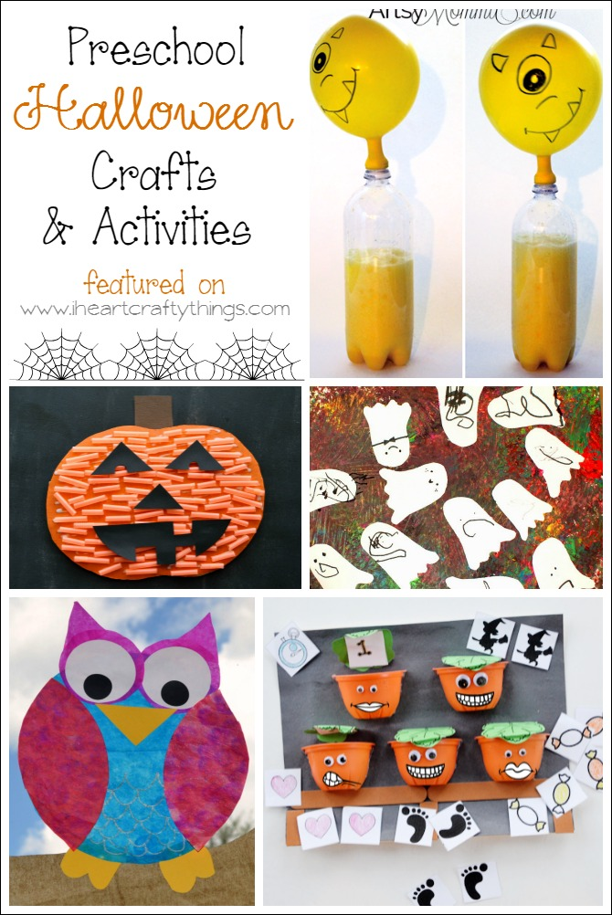 I HEART CRAFTY THINGS: Preschool Halloween Crafts and Learning ...
