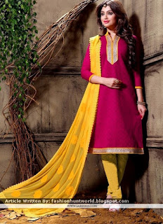 Latest Churidar Designer Suits / Readymade Churidar Designer Dresses
