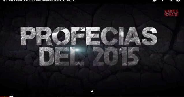 PREDICCIONES 2015 Es mejor saber y estar ! ATENTO !