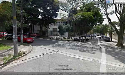 Sisp/Siadem no Google Earth