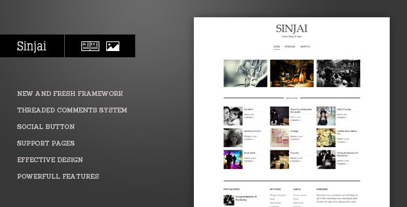 Sinjai Blogger Template