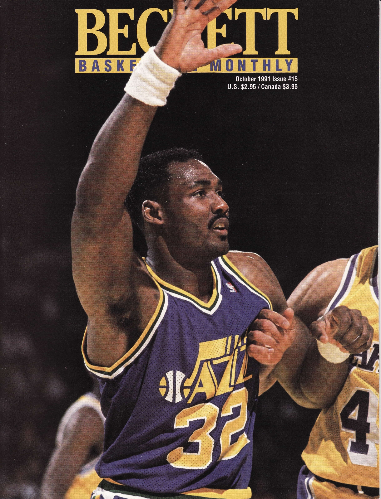 Karl Malone from Beckett Basketball Monthly