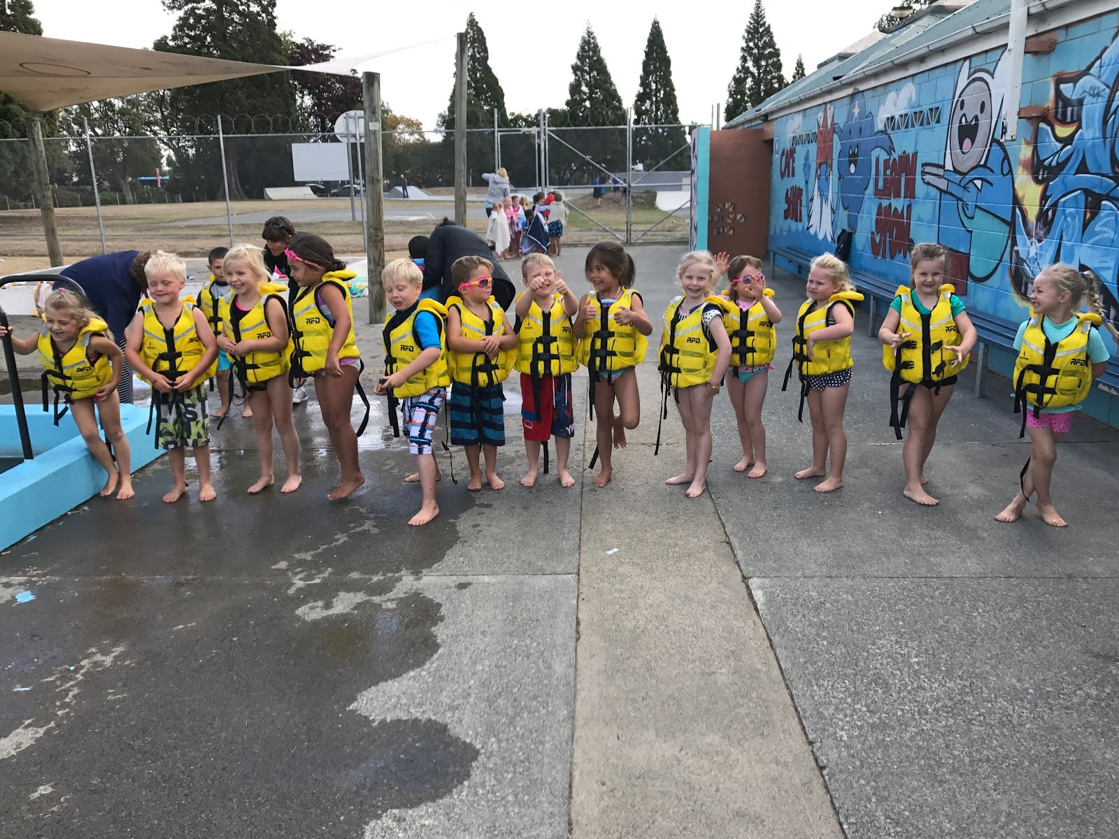 Lifejacket fun!