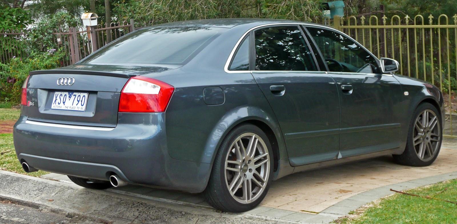 Audi s4 b6 sedan 2003 2005