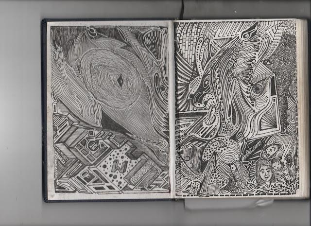 """""""Un dibujo que sintetiza el arte de la palabra con el arte pictórico."""""""