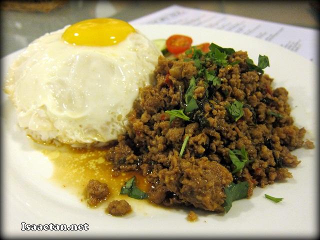 #4 Phad Khao Muu - RM10.90