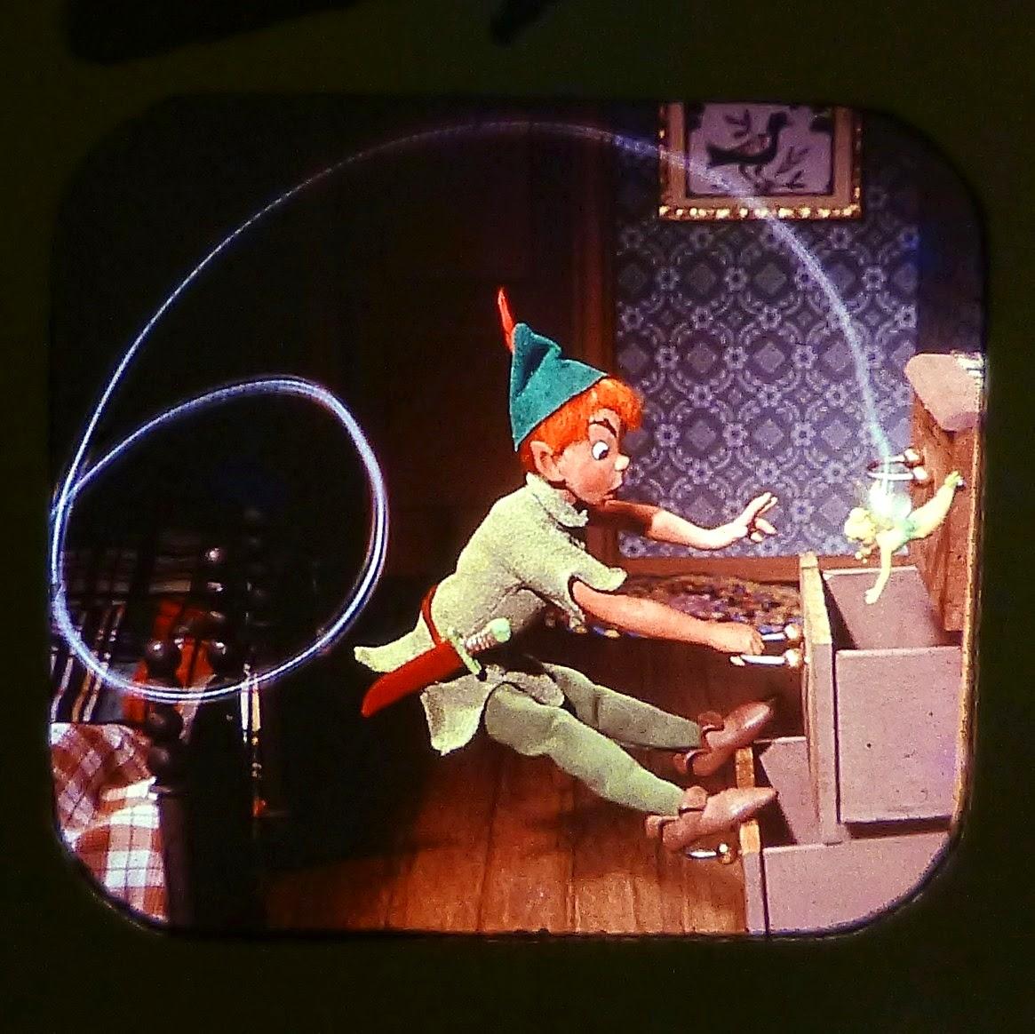Lance cardinal creations disney 39 s peter pan vintage view master reels - Image peter pan ...
