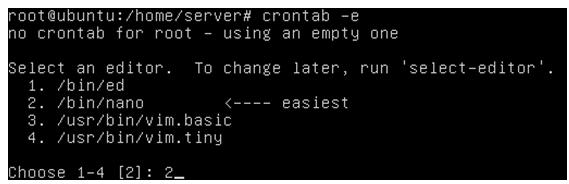 Cara Menggunakan Crontab di Ubuntu